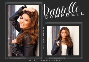 Danielle Campbell | Photopack by damnVamp