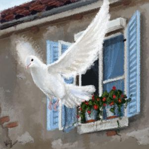 -][��� ���� ���� ����][- White_pigeon_by_Beff