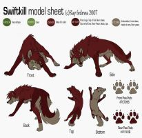 Swiftkill Model Sheet by KayFedewa