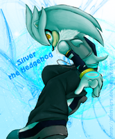 Silver the Hedgehog by martiigr5
