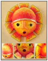 sun king mask by hollow-welt