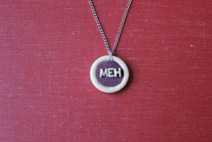 Meh Pendant by BlueSpecsStudio