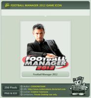 Football Manager 2012 Icon by CODEONETEAM