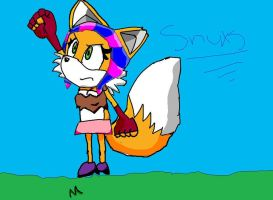 a tails to snuxs recolour. by xXSeekaMistaXx
