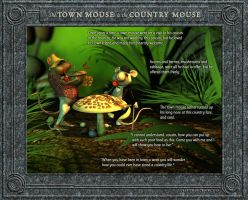 The Town Mouse and the Country Mouse 1/4 by falsedelic