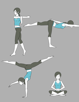 Wii Fit Trainer by yamon-venzli
