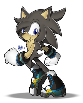 (COMM) 2/2 Sonic SA Style .:for The-Black-Blurr:. by MimiGuerrero