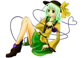 Kiriban: komeiji koishi by purplegirlz