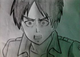 Eren drawing by keichan77