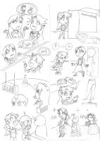 Comic -  Stockings' buyers I by Protossgp32