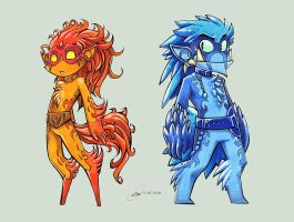 Gimps: Fire and Ice by Fluro-Knife