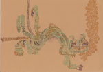 chinese dragon cat by TheLaaarch