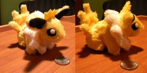 Plush Jolteon by PeaceFluffles