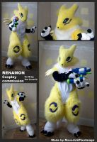 Renamon Cosplay Commission by PixelMecha