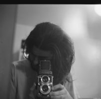 Alpha - Ilford - mirror me by Picture-Bandit