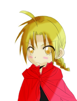 Chibi Edward Elric -colored- by Kaze-yo