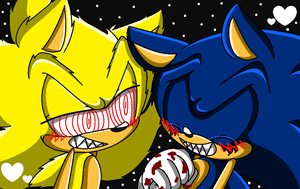 .:Request:. FleetwayXSonic Exe X3 by Ultragamer01