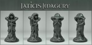 Laticis Imagery FREE Object - Alien Statue by Laticis