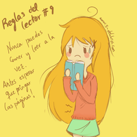 Reglas del lector #9 by Thegirlins