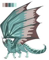 Wolf Dragon-Auction (CLOSED) by CrystalCircle
