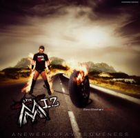 A New Era Of Awesomeness Ft. The Miz by BSWallpaper