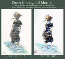 Draw This Again - Sora by Did2009