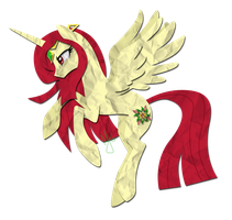 Paper Pony: Princess Ancora by IEatedAUnicorn