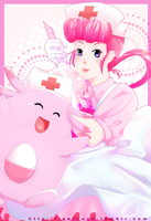 Nurse Joy and Chansy! by Leefuu