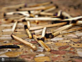 Matchstick photography by injured-eye