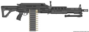 M666 Machine Gun by M60RPD