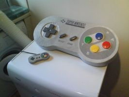 Giant Snes Pad by WillziakDS