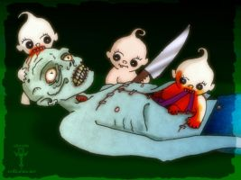 Night Of the Living Kewpies by skratte