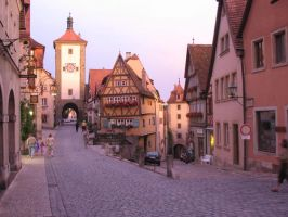 Rothenburg ob der Tauber 15 by nathies-stock