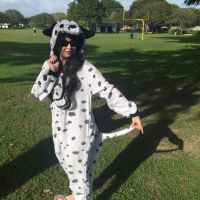 Dalmatian Puppy in the Park Cosplay by KrazyKari