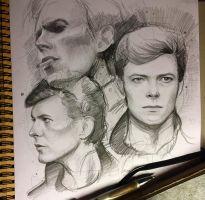 David Bowie by MaryRiotJane