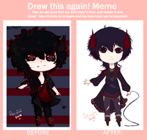 Draw This Again Meme by mauuchi