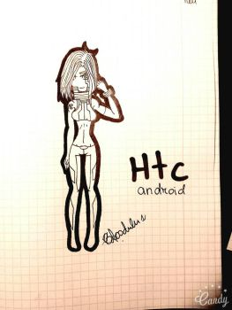 Probably a new Htc design by BloodieTheKiller