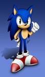 Sonic the Hedgehog 2015 by AlexTHF