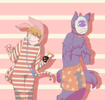 POPEE AND KEDAMONO by Crummy-Juncture