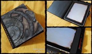 Steampunk Ipad case by Diarment