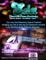 Electric Dance Awakening Event Flyer by BCMmultimedia
