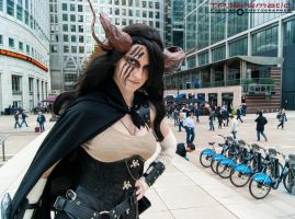 Steampunk Satyr - Canary Wharf 5 by TPJerematic