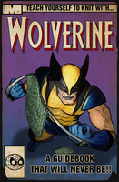 Knitting with Wolverine by MacNeacail