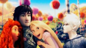 The Big 4   Fangurling over Hiccup by mewnadjaXJackFrost