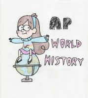 Binder Cover for World History by Maddyfae