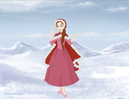 Belle in Winter by Kailie2122