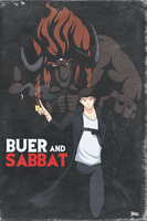 Buer and Sabbat by Blazbaros