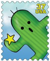 Cactuar Stamp by roushi