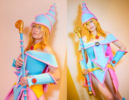 The Dark Magician Girl by gamefan23