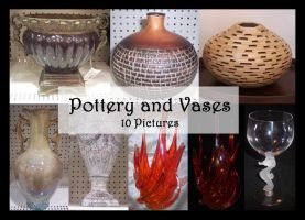 Pottery and Vases by TatteredButterfly